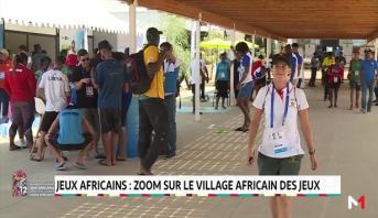 Jeux africains: zoom sur le Village Africain des Jeux
