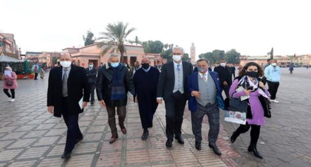 مراكش .. إعطاء انطلاقة أشغال تهيئة متحف التراث اللامادي بساحة جامع الفنا