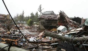 """اليابان .. حصيلة جديدة لضحايا إعصار """"هاغيبيس"""""""