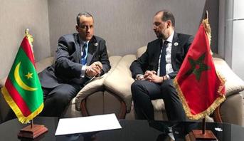 رسالة خطية من الرئيس الموريتاني إلى الملك محمد السادس