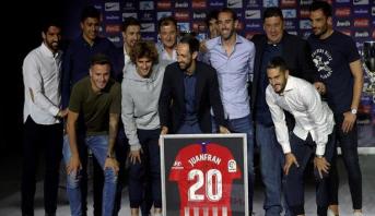 Espagne: Juanfran quitte l'Atlético Madrid