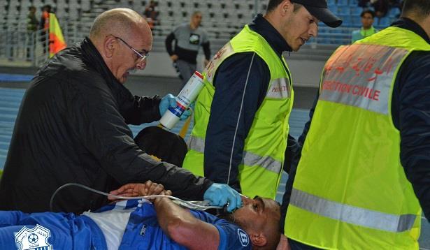 اتحاد طنجة يكشف الحالة الصحية للمدافع أيوب الجرفي
