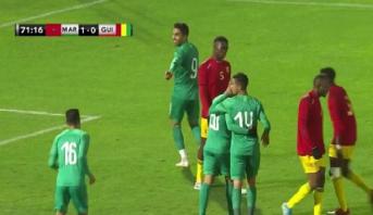 فيديو.. المنتخب الوطني للمحليين يفوز وديا على نظيره الغيني