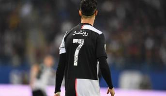 يوفنتوس يخُطّ أقمصة لاعبيه بالعربية