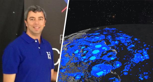 العالم المغربي كمال الودغيري يتحدث لميدي1 عن اكتشاف كميات من المياه على سطح القمر