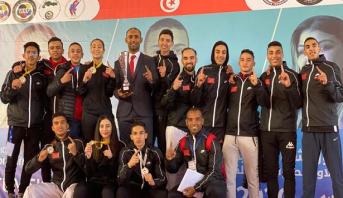 المنتخب المغربي للكراطي يتوج بلقب بطولة شمال إفريقيا بتونس بنيله 29 ميدالية