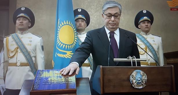 كازاخستان :جومارت توكايف يؤدي اليمين الدستورية كرئيس للبلاد