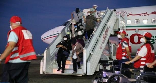 المغاربة العالقون بالخارج .. وصول 304 أشخاص عائدين من تركيا إلى مطار مراكش