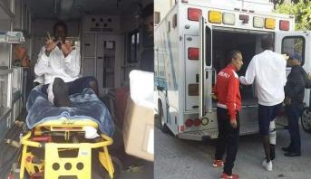 رغم الإصابة .. حارس حوريا كوناكري يشجع الوداد أمام صان داونز