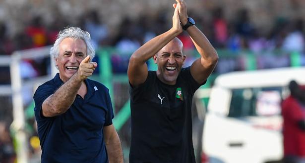 """تصريح هاليلوزيتش بعد أول فوز رسمي رفقة """"الأسود"""""""