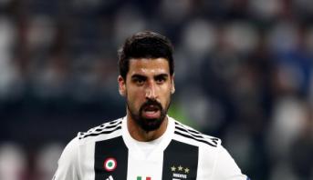 Football: la Juventus privée de Khedira qui souffre d'un problème cardiaque