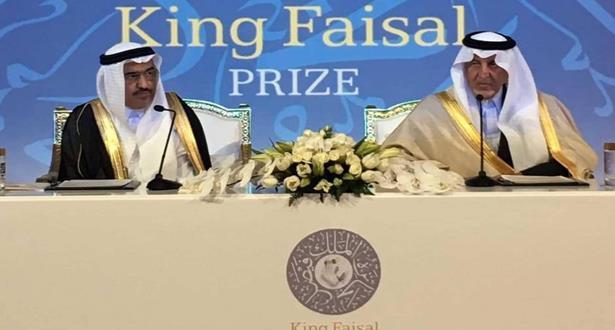 تتويج مغربي مصري بجائزة الملك فيصل العالمية في فرع اللغة العربية والأدب