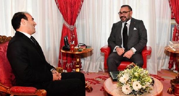 الملك محمد السادس يستقبل محمد بنعليلو ويعينه في منصب الوسيط