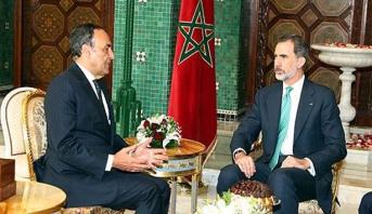 """الملك """"ضون"""" فيليبي السادس يستقبل رئيس مجلس النواب"""