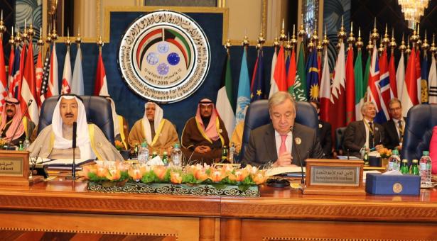 الإعلان بالكويت عن تخصيص 30 مليار دولار لإعادة إعمار العراق