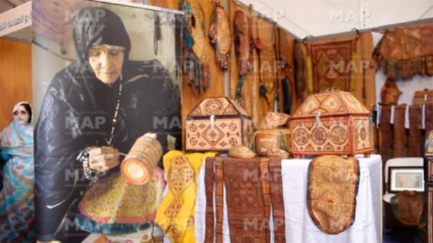 Laâyoune: l'ouverture du salon régional de l'artisanat