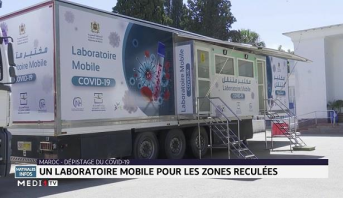 Dépistage du Covid-19: un laboratoire mobile pour les zones reculées