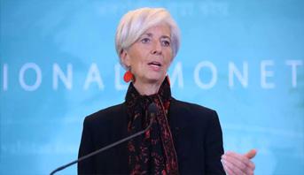 لاغارد: اقتصاد منطقة الأورو سيعرف انكماشا