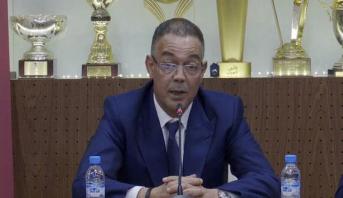 تصريح فوزي لقجع بعد التعاقد مع خليلوزيتش