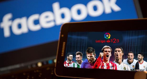 Liga: tous les matchs en direct et gratuitement sur Facebook dans certains pays