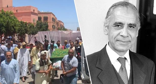 تشييع جنازة الفنان الراحل عبد الله العمراني بمراكش