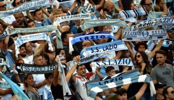 """Italie : La Lazio sanctionnée pour """"comportement raciste"""" de ses fans"""