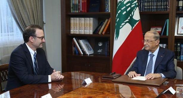 لبنان يدعو واشنطن لاستئناف وساطتها لترسيم الحدود مع إسرائيل