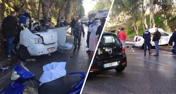 فرار مجموعة من السجناء من سجن في لبنان ومصرع 5 منهم في حادث سير