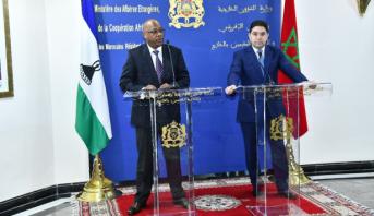 """ليسوتو تقرر تعليق جميع القرارات والتصريحات السابقة المتعلقة بالصحراء المغربية وبـ """"الجمهورية الوهمية"""""""
