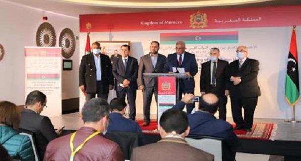 طرفا الحوار الليبي يثمنان دعم الملك محمد السادسالموصول لجهود إنهاء الأزمة الليبية