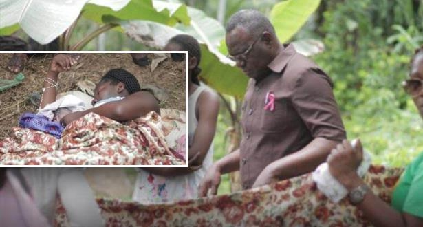 Gabon: le ministre de la santé revêt sa blouse de médecin pour faire accoucher une femme sans assistance