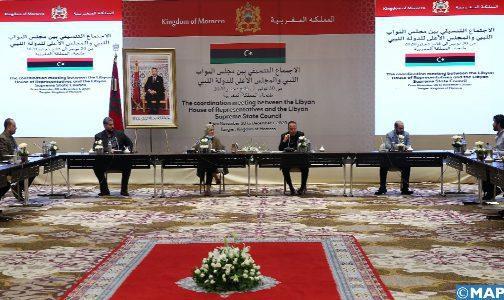 Libye : La Chambre des représentants et le Haut conseil d'État attachés aux mécanismes de l'Accord politique (communiqué final)
