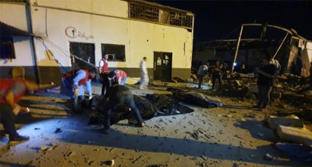 ارتفاع عدد المغاربة المصابين في قصف مركز للهجرة غير النظامية بليبيا