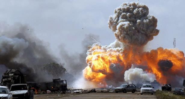 ليبيا.. تعليق مؤقت للملاحة الجوية بمطار معيتيقة الدولي بطرابلس