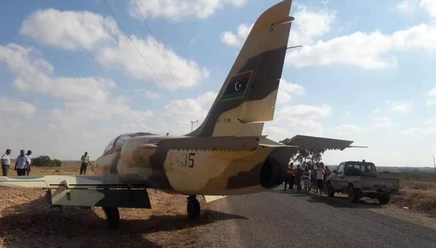 توضيحات حول الطائرة العسكرية الليبية التي اخترقت المجال الجوي التونسي