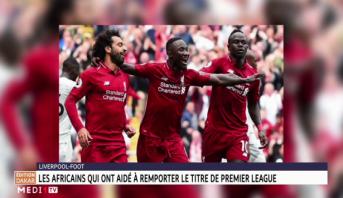 Liverpool: les Africains qui ont aidé à remporter le titre de Premier League