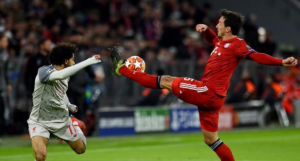 دوري أبطال أوروبا .. ماني يقود ليفربول إلى الربع النهائي