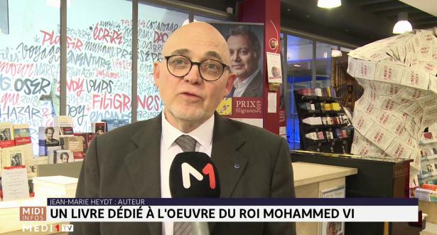 """Bruxelles: Jean-Marie Heydt signe son livre """"Mohammed VI, la vision d'un Roi : actions et ambitions"""""""