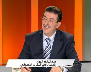 الماتش > L'Match reçoit Abdelmalek Abroun, président du Moghreb Athletic Tétouan