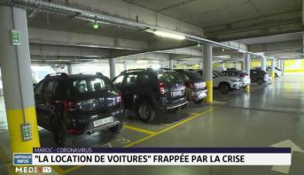 Covid-19: le secteur de location de voitures frappé par la crise