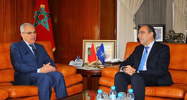 لوديي يستقبل الأمين العام المساعد لحلف شمال الأطلسي، المكلف بالشؤون السياسية وسياسة الأمن