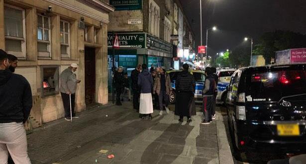 إطلاق نار على مسجد أثناء صلاة التراويح في لندن
