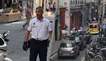 ترجيح فرضية الطرد المفخخ في انفجار ليون والرئيس الفرنسي يعلق
