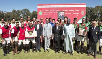 Rabat: le Prince Moulay Rachid préside la finale de la 3è édition du Trophée International Mohammed VI de Polo