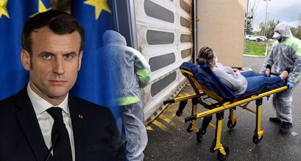 وفيات كورونا ترتفع فرنسا وماكرون يحذر