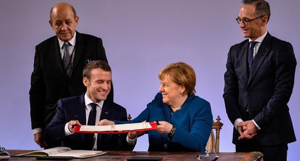L'Allemagne et la France signent un nouveau traité d'amitié et de coopération