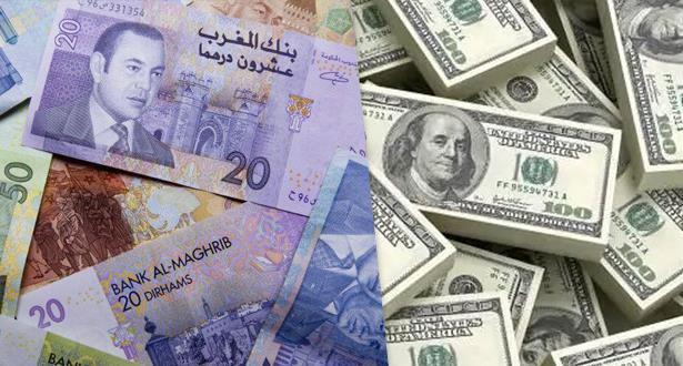ارتفاع قيمة الدرهم مقابل الدولار بنسبة 1,89 في المائة في دجنبر 2020