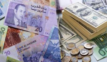أسعار صرف العملات الأجنبية مقابل الدرهم الاثنين 29 يونيو