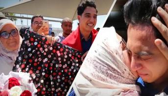 دموع وعناق حار في عودة صوت الزمن الجميل للمغرب