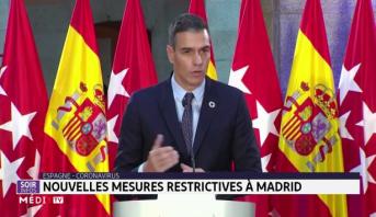 Coronavirus: nouvelles mesures restrictives à Madrid